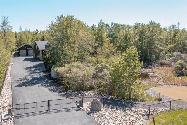 45 Silverwoods Drive, Rural Rocky View County, AB T3R 1E2 (#A1116588) :: Calgary Homefinders