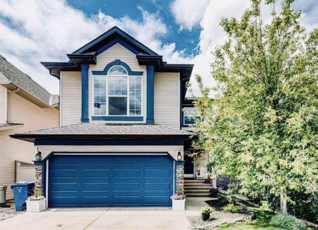 140 Cougarstone Common SW, Calgary, AB T3H 5P6 (#A1116708) :: Calgary Homefinders