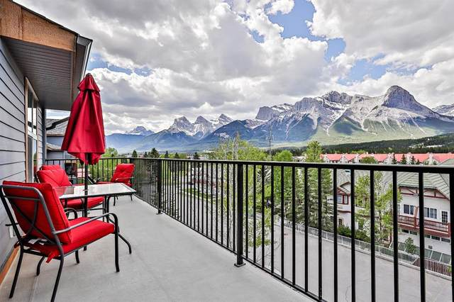 1818 Mountain Avenue #314, Canmore, AB T1W 3M3 (#A1116740) :: Calgary Homefinders