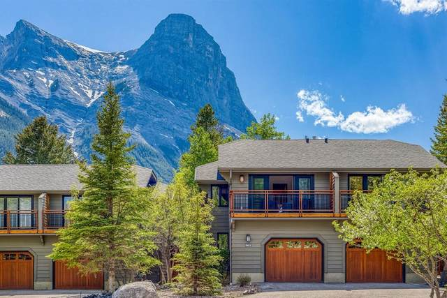 1010 Olympic Drive #902, Canmore, AB T1W 2S5 (#A1117521) :: Calgary Homefinders