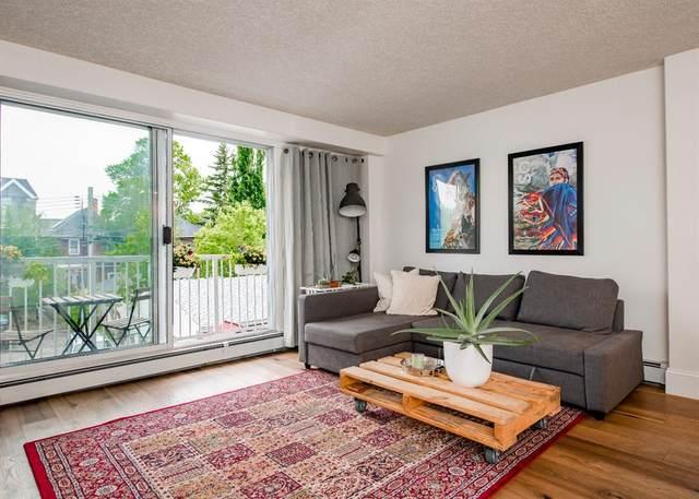 525 22 Avenue SW #303, Calgary, AB T2S 0H5 (#A1117878) :: Calgary Homefinders
