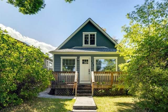 429 8A Street NE, Calgary, AB T2E 4J2 (#A1146319) :: Canmore & Banff