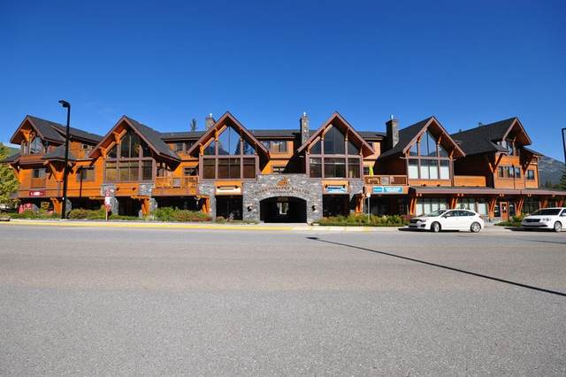 75 Dyrgas Gate #101, Canmore, AB T1W 0A6 (#A1148979) :: Canmore & Banff