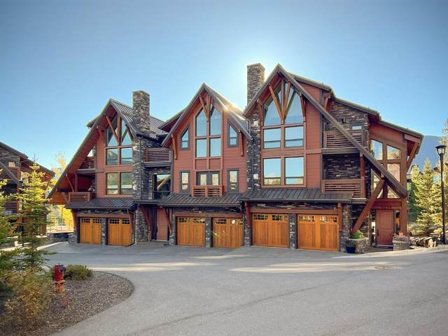 2100F Stewart Creek Drive #303, Canmore, AB T1W 0G3 (#A1152434) :: Canmore & Banff