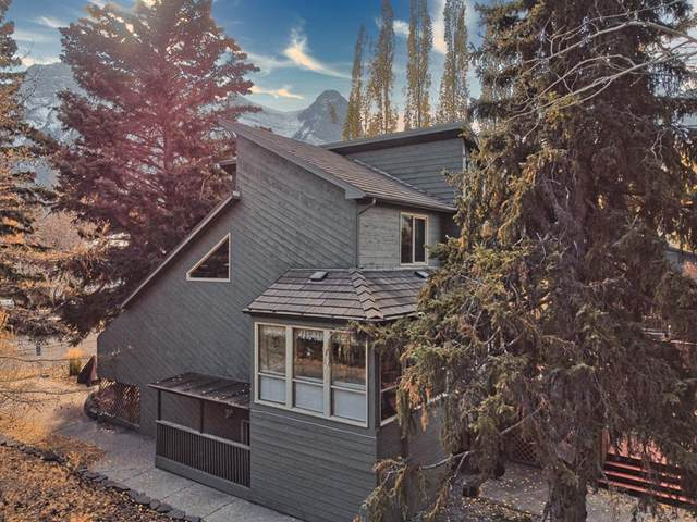 702 2nd Street, Canmore, AB T1W 2K7 (#A1153237) :: Canmore & Banff