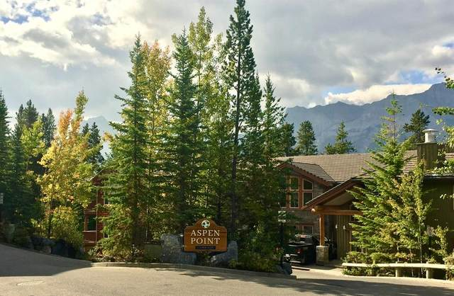 3 Aspen Glen #300, Canmore, AB T1W 1A6 (#AW52601) :: Canmore & Banff