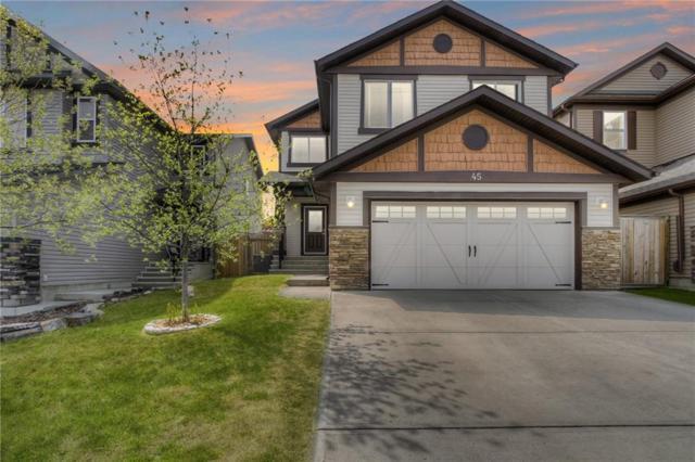 45 Silverado Skies Drive SW, Calgary, AB T2X 0J5 (#C4084164) :: Redline Real Estate Group Inc
