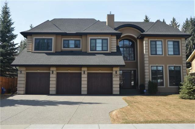 1307 Baldwin Crescent SW, Calgary, AB T3K 4E6 (#C4210070) :: The Cliff Stevenson Group