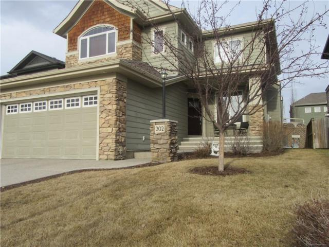 202 Cimarron Drive, Okotoks, AB T1S 0A7 (#C4218643) :: Redline Real Estate Group Inc