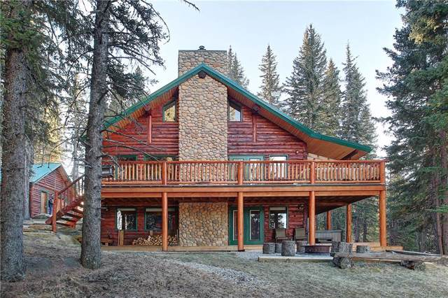 3 Ranch Road, Rural Foothills County, AB T0L 1K0 (#C4221005) :: Canmore & Banff