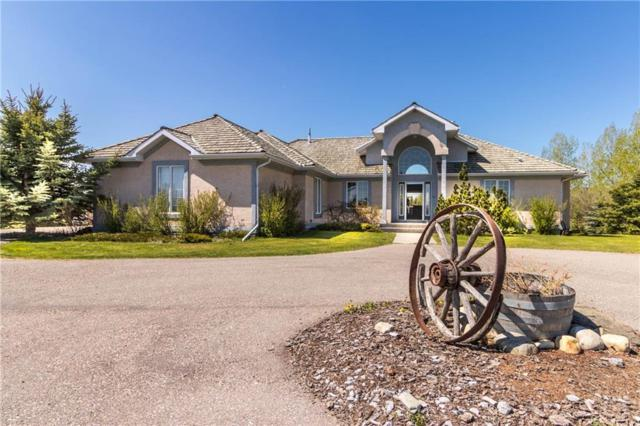 11 Country Lane Bay, Rural Rocky View County, AB T3Z 1J8 (#C4225227) :: The Cliff Stevenson Group