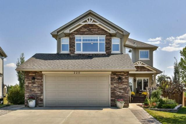 220 Crystal Green Place, Okotoks, AB  (#C4229977) :: The Cliff Stevenson Group