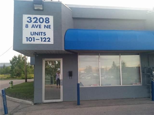 3208 Avenue NE #101, Calgary, AB T2A 7V8 (#C4232117) :: Canmore & Banff