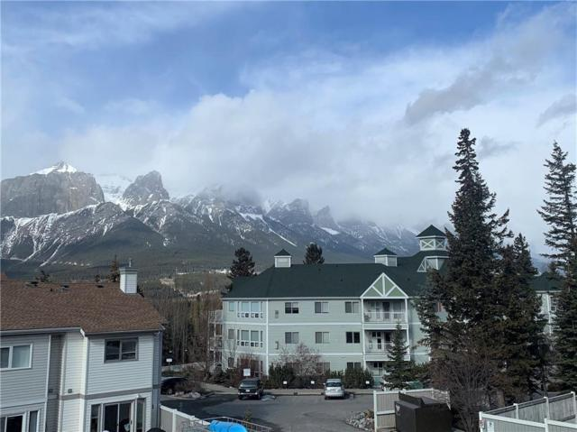 1080C Cougar Creek Drive #110, Canmore, AB T1W 2X9 (#C4236079) :: Redline Real Estate Group Inc