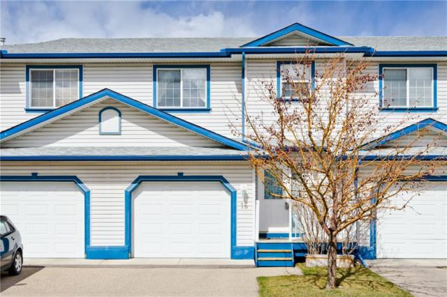 33 Stonegate Drive NW #16, Airdrie, AB T4B 2V9 (#C4238985) :: Redline Real Estate Group Inc