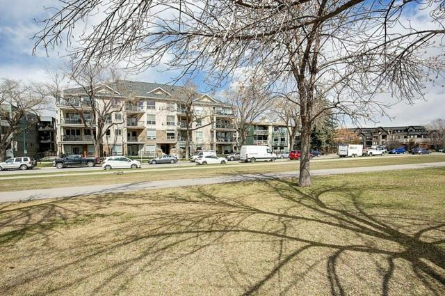 3412 Parkdale Boulevard NW #407, Calgary, AB T2N 3T4 (#C4241873) :: The Cliff Stevenson Group