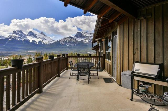 701 Benchlands Trail #304, Canmore, AB T1W 3G9 (#C4244424) :: Canmore & Banff