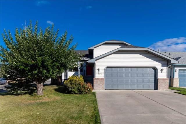 102 West Terrace Bay, Cochrane, AB T4C 1R7 (#C4244794) :: Redline Real Estate Group Inc
