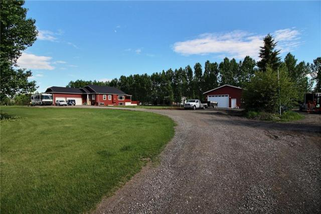 292185 Twp Rd 264, Rural Rocky View County, AB T4A 0N3 (#C4247427) :: Redline Real Estate Group Inc