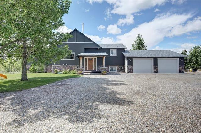 260127 Mountain Ridge Place, Rural Rocky View County, AB T4C 1A2 (#C4253898) :: Redline Real Estate Group Inc