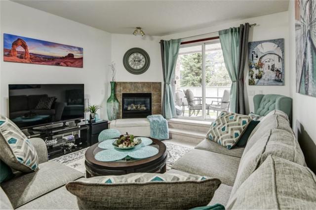 165 Manora Place NE #110, Calgary, AB T2A 7X5 (#C4256150) :: Calgary Homefinders
