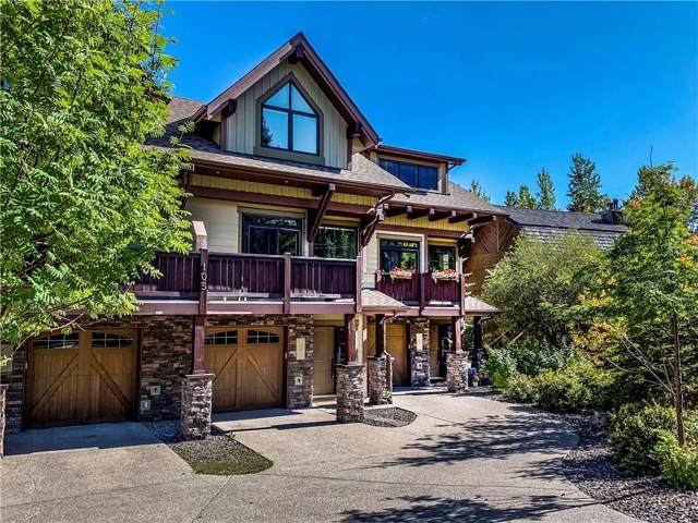 105 Rundle Drive #4, Canmore, AB T1W 2L8 (#C4256847) :: Virtu Real Estate