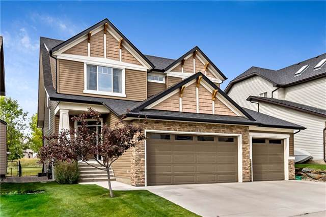 121 Crystal Green Drive, Okotoks, AB T1S 0C7 (#C4266523) :: Redline Real Estate Group Inc