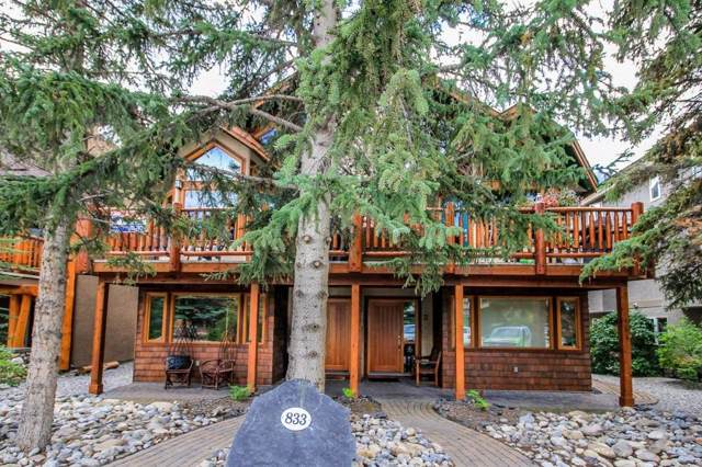 833 4th Street #1, Canmore, AB T1W 2G9 (#C4267662) :: Canmore & Banff