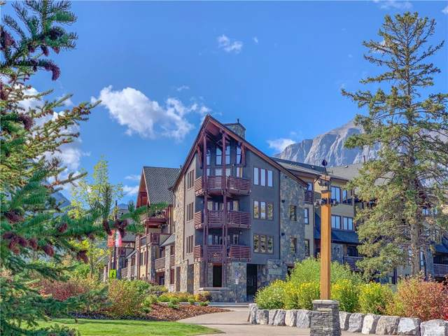 379 Spring Creek Drive #215, Canmore, AB T1W 0G8 (#C4268623) :: The Cliff Stevenson Group