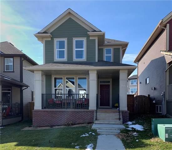 166 Heritage Drive, Cochrane, AB T4C 0L4 (#C4272168) :: Calgary Homefinders