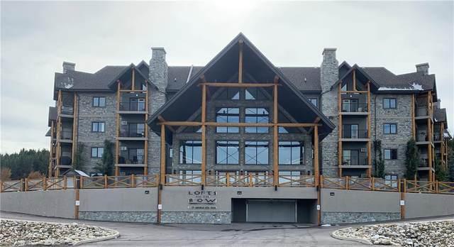 77 George Fox Trail #302, Cochrane, AB T4C 0N1 (#C4275766) :: Redline Real Estate Group Inc