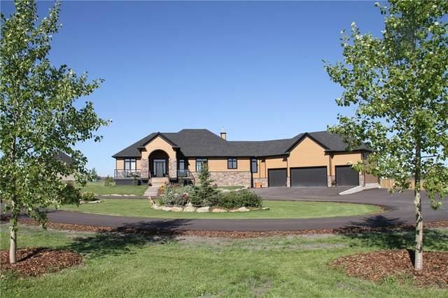 81 Ravencrest Drive, Rural Foothills County, AB T1S 1B2 (#C4279601) :: The Cliff Stevenson Group