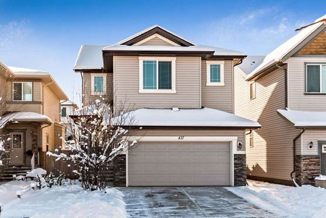 437 Cimarron Boulevard, Okotoks, AB T1S 0J5 (#C4281428) :: Redline Real Estate Group Inc