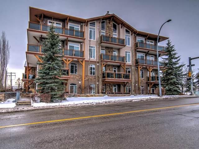 4440 14 Street NW #404, Calgary, AB T2K 1J5 (#C4285407) :: The Cliff Stevenson Group