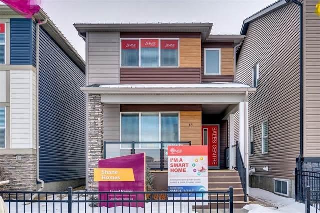 18 Cornerstone Road NE, Calgary, AB T3N 1R8 (#C4286359) :: Redline Real Estate Group Inc