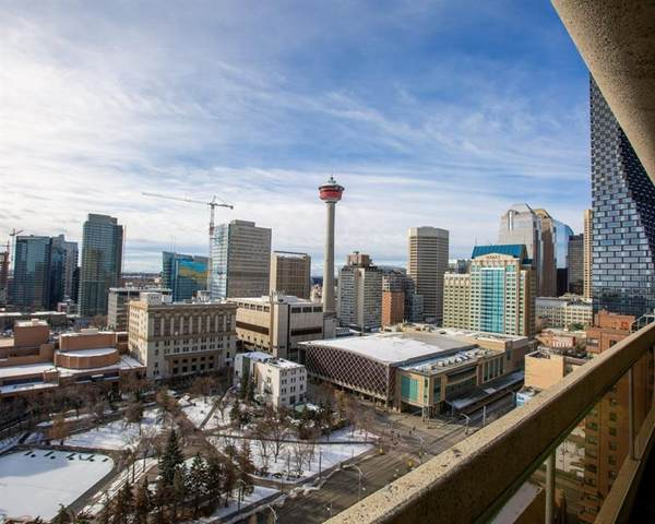 221 6 Avenue SE #2305, Calgary, AB T2G 0G4 (#C4288316) :: Calgary Homefinders