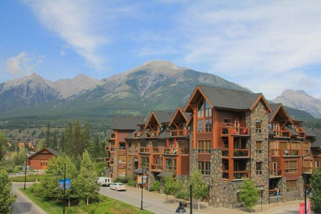 707 Spring Creek Drive #313, Canmore, AB T1W 0K7 (#C4289218) :: Canmore & Banff