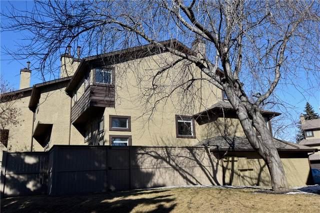 66 Glamis Garden(S) SW, Calgary, AB T3E 6S4 (#C4290522) :: The Cliff Stevenson Group