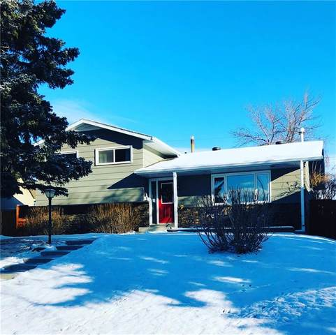 632 Hunterfield Place NW, Calgary, AB T2K 4L6 (#C4290728) :: The Cliff Stevenson Group