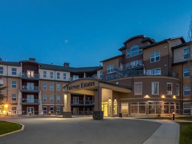 5040 53 Street #206, Sylvan Lake, AB T4S 0A1 (#C4292241) :: The Cliff Stevenson Group