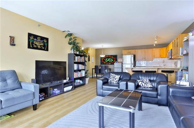 1080C Cougar Creek Drive #306, Canmore, AB T1W 2X9 (#C4292485) :: Canmore & Banff