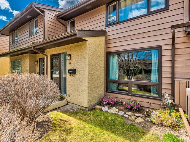 2300 Oakmoor Drive SW #71, Calgary, AB T2V 4N7 (#C4295272) :: The Cliff Stevenson Group