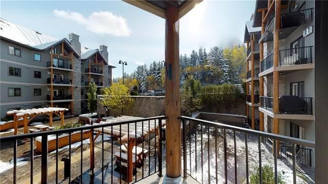 77 George Fox Trail #212, Cochrane, AB T4C 0N1 (#C4297301) :: Redline Real Estate Group Inc
