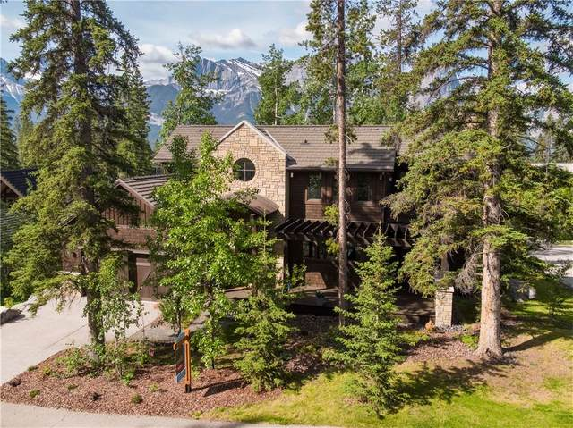 537 Silvertip Road, Canmore, AB T1W 3H3 (#C4299144) :: Canmore & Banff