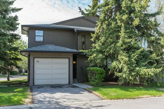 23 Glamis Drive SW #99, Calgary, AB T3E 6S3 (#C4299371) :: ESTATEVIEW (Real Estate & Property Management)