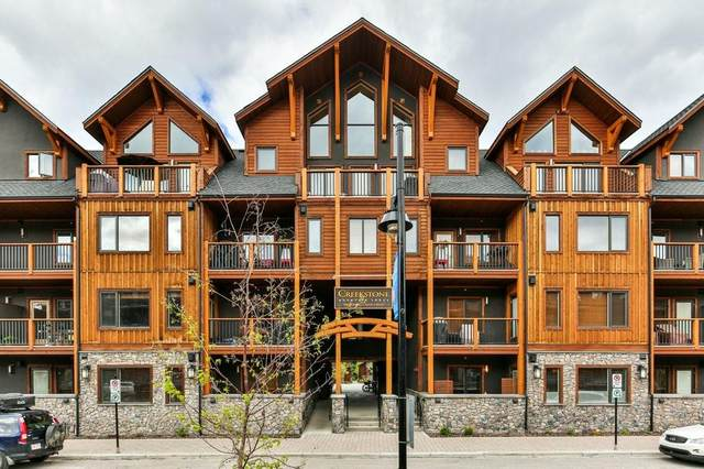 707 Spring Creek Drive #211, Canmore, AB T1W 0K7 (#C4300623) :: Canmore & Banff
