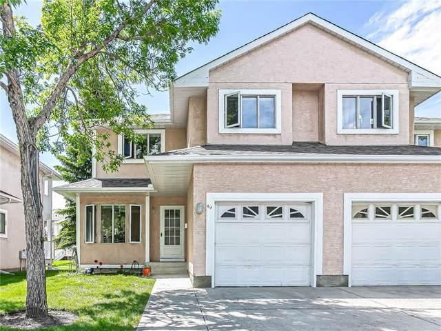 388 Sandarac Drive NW #49, Calgary, AB T3K 4E3 (#C4301941) :: Virtu Real Estate