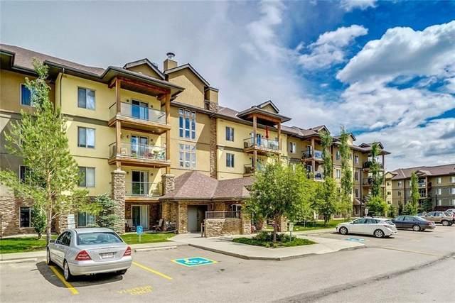 92 Crystal Shores Road #2102, Okotoks, AB T1S 2M9 (#C4303304) :: Redline Real Estate Group Inc