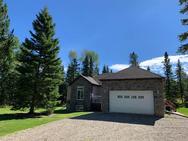 1 Sandhill Drive, Rural Clearwater County, AB T4T 2A4 (#CA0190047) :: Canmore & Banff