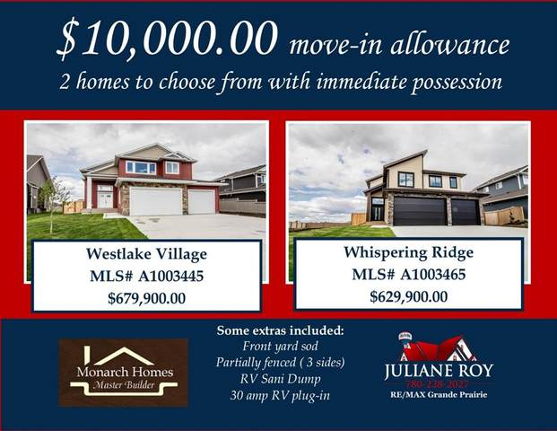 10620 156 Avenue, Rural Grande Prairie No. 1, County of, AB T8V 0P1 (#A1003445) :: Calgary Homefinders